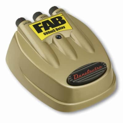 Danelectro D-8 Fab 600mS Delay Electric Guitar Effects Pedal for sale