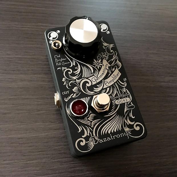 dazatronyx class a germanium amplifier guitar pedal limited reverb. Black Bedroom Furniture Sets. Home Design Ideas