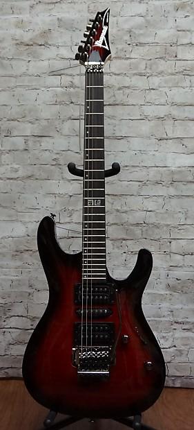Ibanez KIKOSP2 TRB Transparent Red Burst HSH Electric Guitar | Reverb