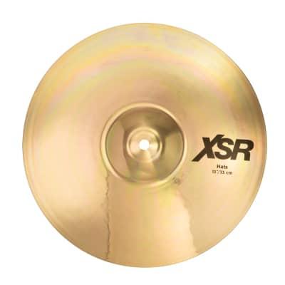 """SABIAN 13"""" XSR Hats Cymbal XSR1302B"""