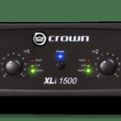 Crown Audio XLi 1500 Two-channel 450W Power Amplifier for sale