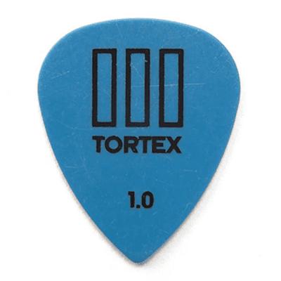 Dunlop 462P10 Tortex III 1.0mm Guitar Picks (12-Pack)