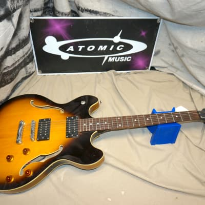 Oscar Schmidt Delta King OE-30/TS Semi-Hollow Tobacco Sunburst Semi-Hollow Guitar for sale