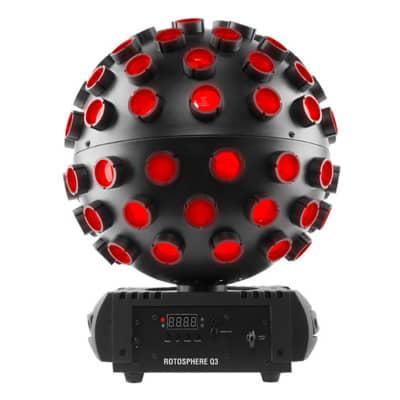 Chauvet DJ Rotosphere Q3 RGBW LED Mirror Ball Simulator Effect