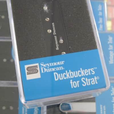 Seymour Duncan Duckbuckers for Strat Neck Middle Black SDBR-1n
