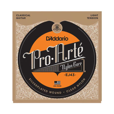 D'Addario EJ43 Pro-Arte Nylon Classical Guitar Strings Light Tension