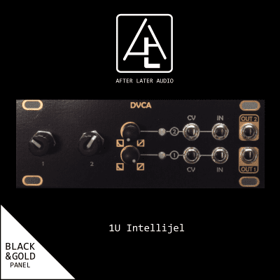 Dual VCA (dVCA) - 1U Intellijel Format - Eurorack Module