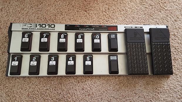 Avid Eleven Rack with PT10 and Behringer FCB1010