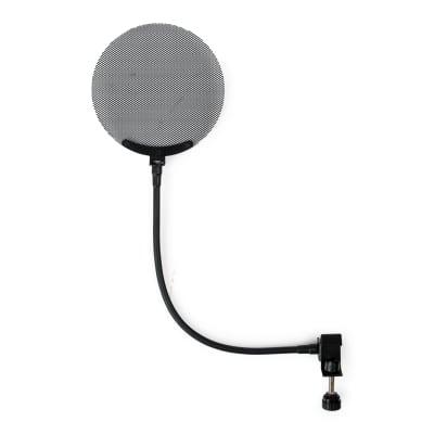 New Gator GFW-POPFILTER-MTL Frameworks Metal Screen Microphone Pop Filter with 12.4-Inch Gooseneck