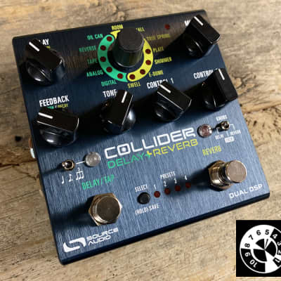Source Audio One Series Collider Delay+Reverb guitar pedal