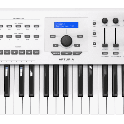 Arturia KeyLab mkII 49 key USB Keyboard Controller White new  //ARMENS//.