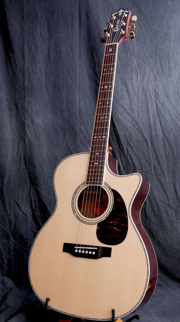 crafter guitars tc 035 acoustic electric guitar reverb. Black Bedroom Furniture Sets. Home Design Ideas