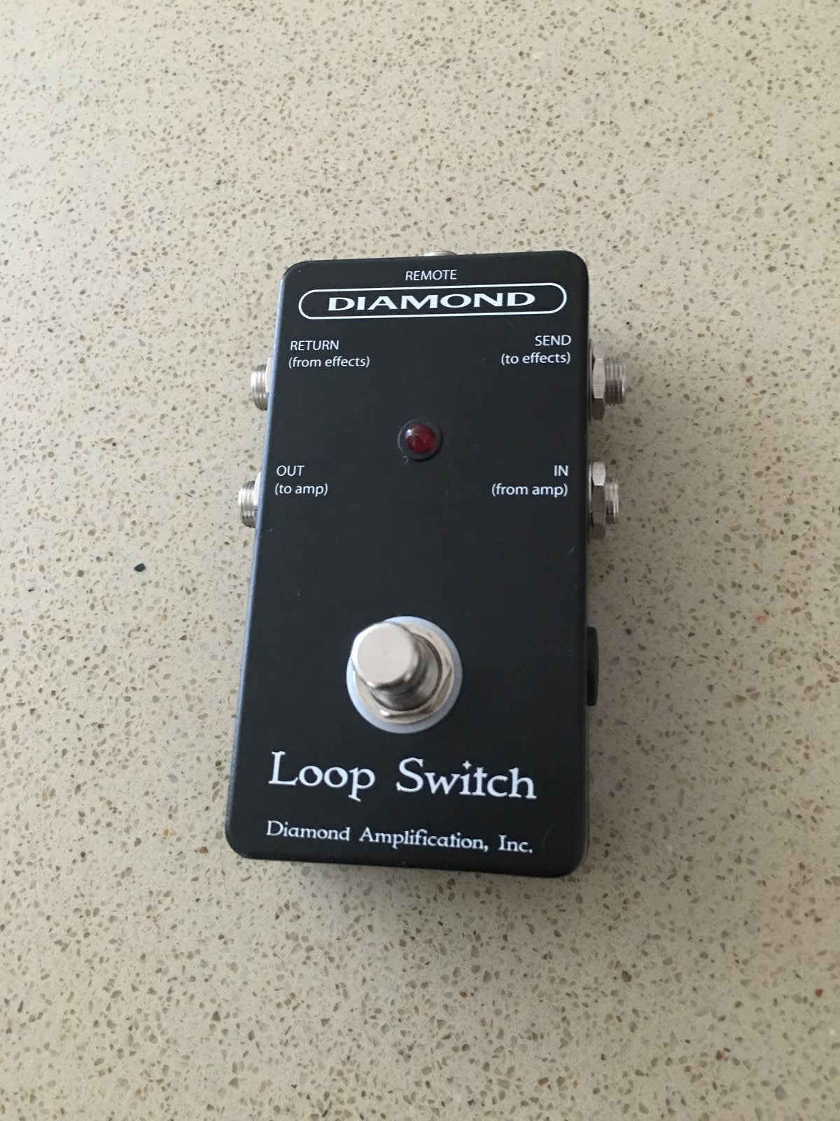 Diamond Amplification Loop Switch Pedal | Reverb