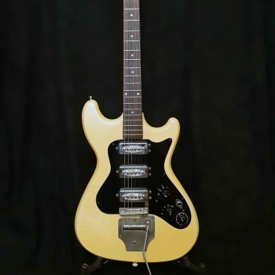 Klira Triumphator 3 pickups 1960's Cream White for sale