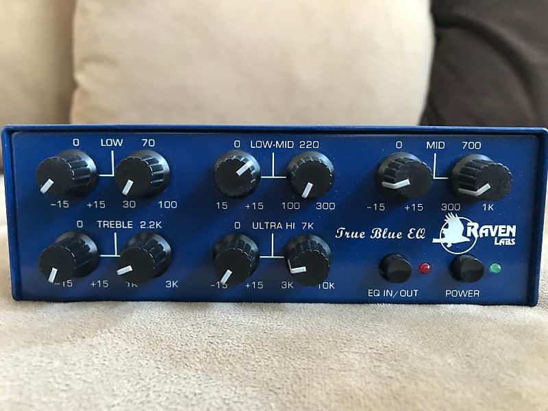 Used Raven Labs True Blue EQ Blue S/N 0093 | VJ's Gear Bazaar