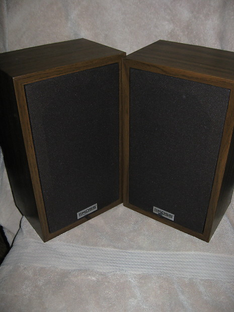 Koss K 2S Vintage Bookshelf Speakers Monitors Nice