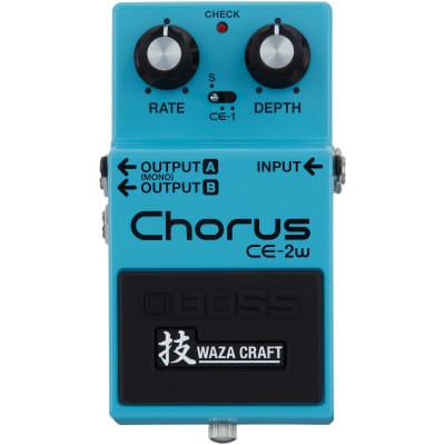 Boss CE-2W Chorus Waza Craft Pedal, Warehouse Resealed