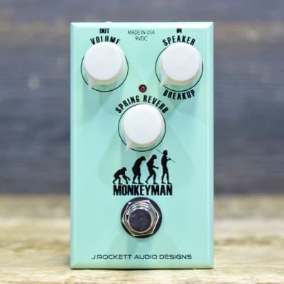 J. Rockett Audio Designs Monkeyman Speaker Breakup / Spring Reverb Effect Pedal for sale