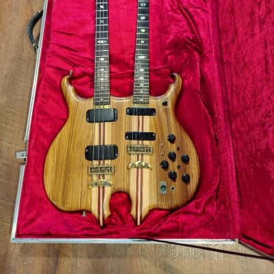 Alembic Series I Double Neck 1980 Zebrawood for sale