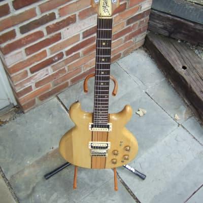 D'Agostino SMG-1 Early 80's Natural Gloss Neck Thru Matsumoku Japan With Gibson USA Gig Bag for sale