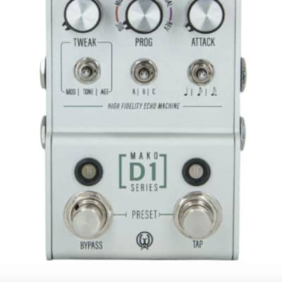 Walrus Audio MAKO Series D1 High-Fidelity Stereo Delay for sale