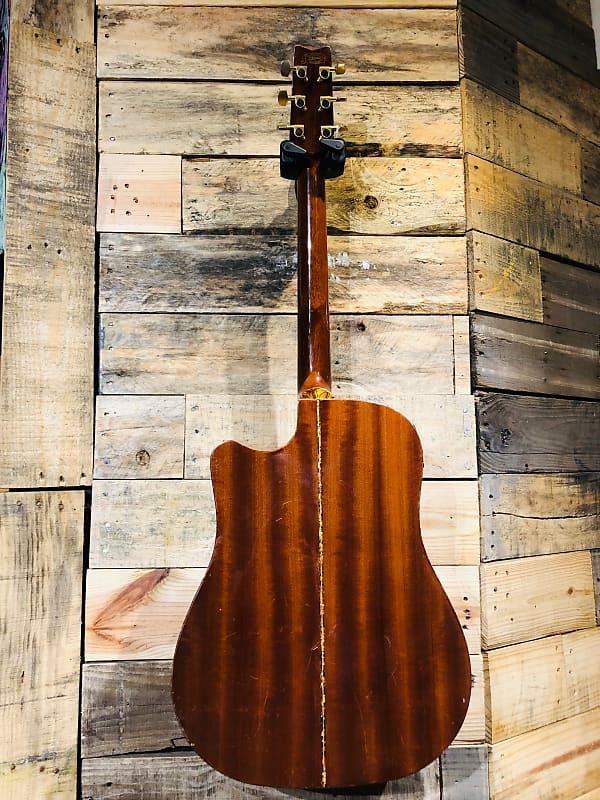 washburn dreadnought acoustic electric guitar reverb. Black Bedroom Furniture Sets. Home Design Ideas