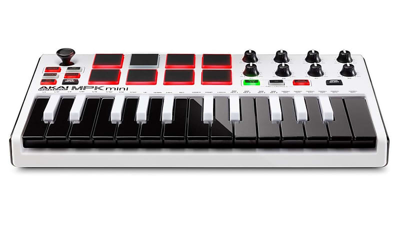 akai professional mpk mini mk2 white special edition reverb. Black Bedroom Furniture Sets. Home Design Ideas