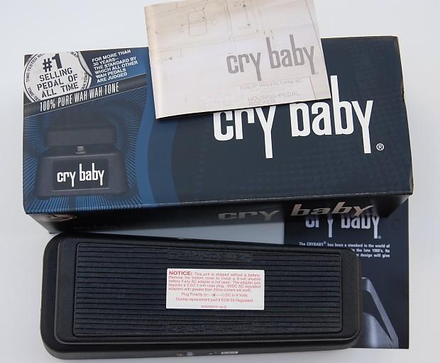 dunlop cry baby wah gcb 95 2006 black leland 39 s gear reverb. Black Bedroom Furniture Sets. Home Design Ideas