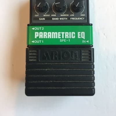 Arion SPE-1 Parametric EQ Equalizer Rare Vintage Guitar Effect Pedal MIJ Japan for sale