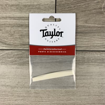 Taylor 6-String Acoustic Guitar Saddle, Wave-Compensated, Bone