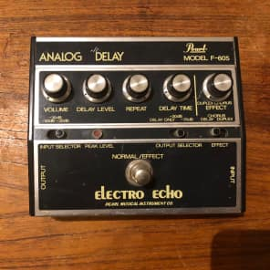 Pearl Pearl F-605 Electro Echo Analog Delay. s/n 512692 (early 80's) for sale