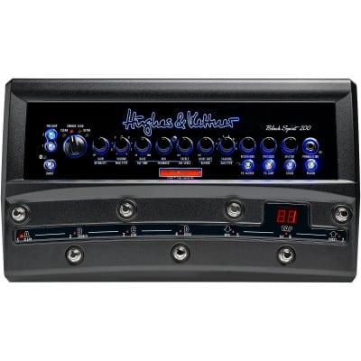 Hughes & Kettner Black Spirit 200 Floor 4-Channel 200-Watt Solid State Pedalboard Guitar Amp