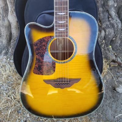 Player by Keith Urban  2010 Yellow Sunburst Left Handed for sale