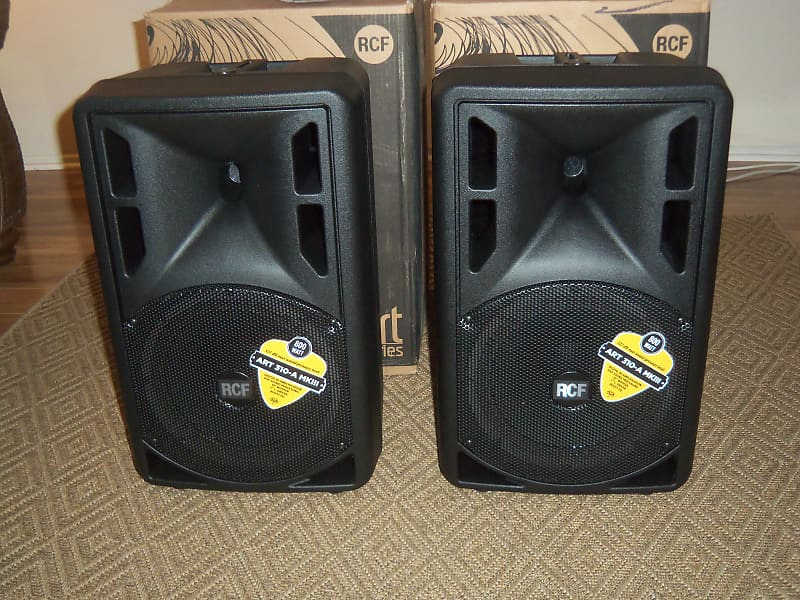 RCF ART 310-A MK3 10 Inch Active 2-Way Powered Speaker SOLD AS EACH