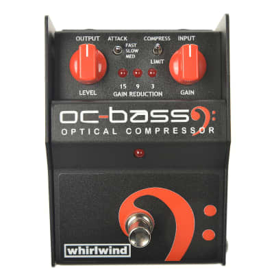Whirlwind OC Bass Optical Bass Compressor Limiter USED for sale