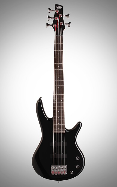 ibanez gsrm25 gio mikro 5 string bass black reverb. Black Bedroom Furniture Sets. Home Design Ideas