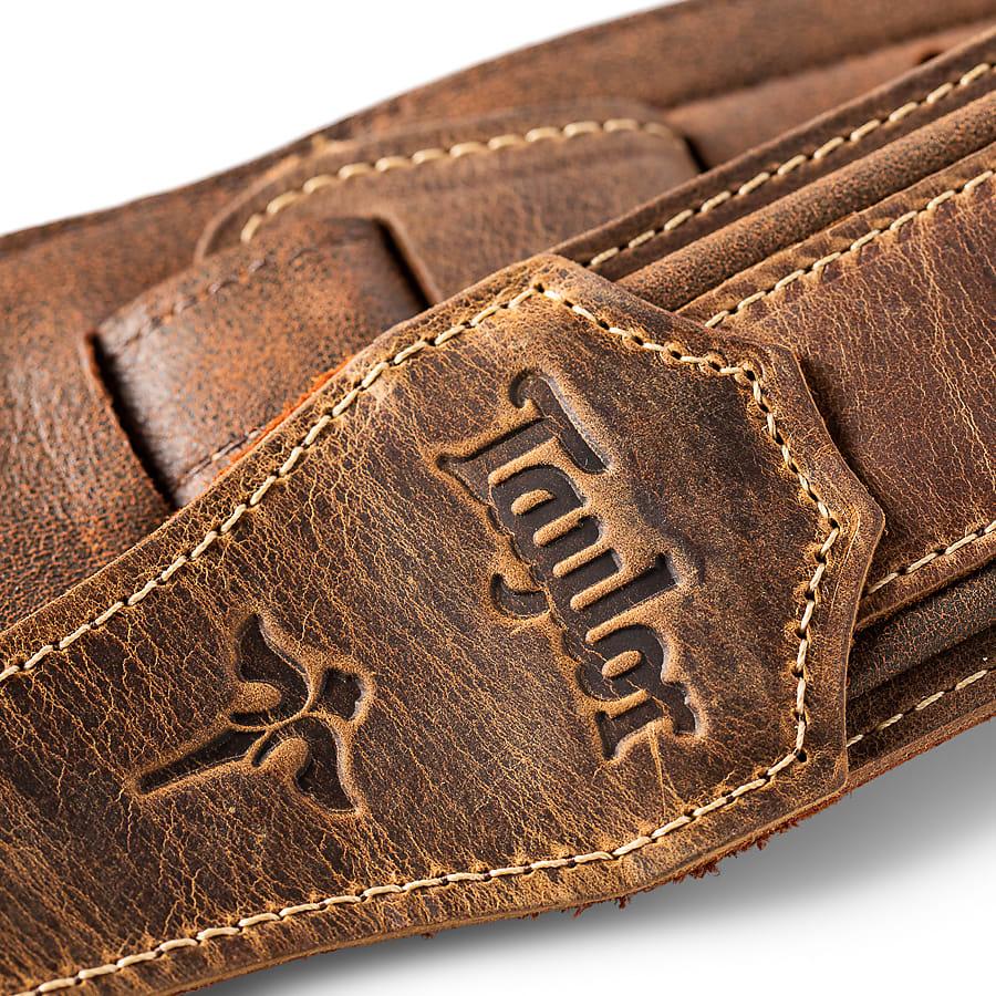 Taylor Wings Strap (600 Series), Dark Brown Leather, 2.5