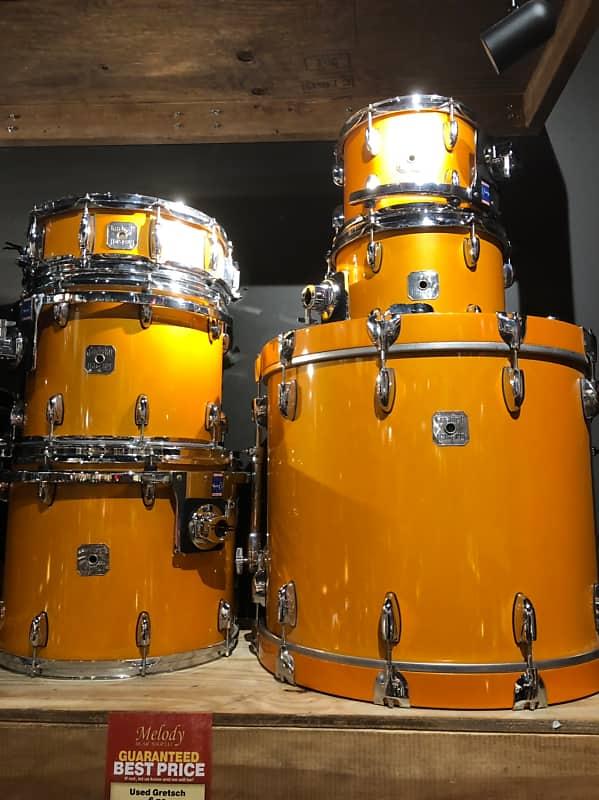 Gretsch Renown 6 Pc Shell Pack Custom Lambo Orange Used Reverb