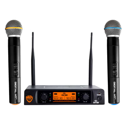 Nady DW-22 HT Dual Digital Wireless Handheld Microphone System (Bands D13, D14)