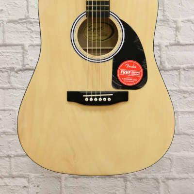 Fender Squier Dreadnought Acoustic Guitar - Natural for sale
