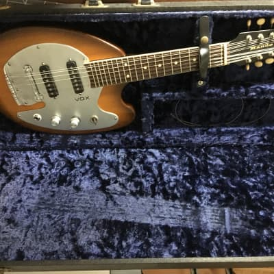 Vox Mando Guitar 1960s Sunburst for sale
