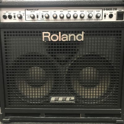 "Roland D-Bass 210  2-Channel 400-Watt 2x10"" Bass Combo"