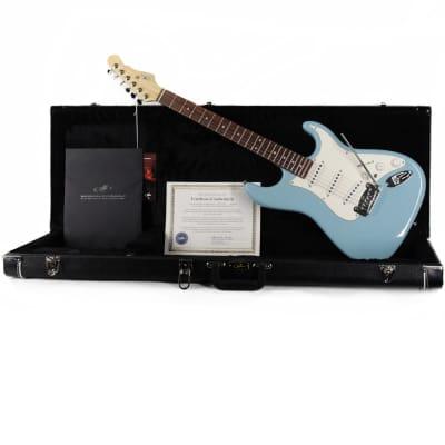 G&L S-500 DF-Vibrato Himalayan Blue for sale