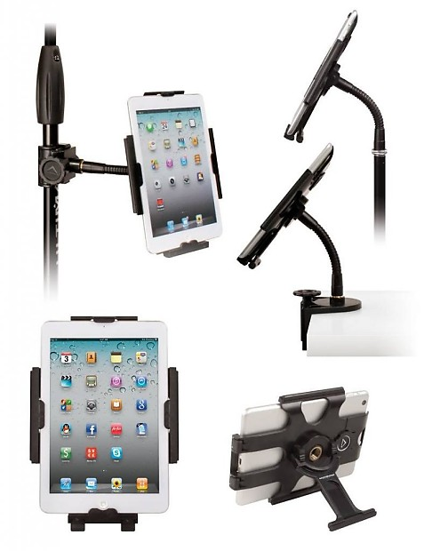 Hyperpad Mini 5 In 1 I Pad Stand W Mic Stand Pole Clamp