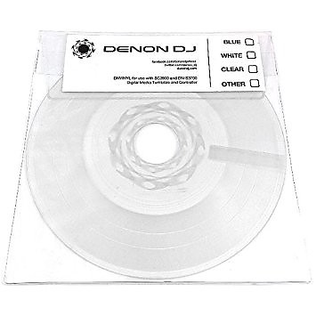 Denon Dj Dnvinyl Replacement Vinyl For Sc3900 And Dn S3700 Reverb