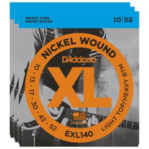 D'Addario EXL140 3-Pack Nickel Wound Electric String Bundle