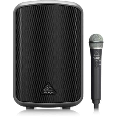 Behringer MPA100BT Portable 100-Watt Bluetooth PA System with Wireless Microphone