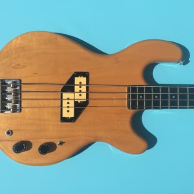 Kramer DMZ 4000 1982 Natural Maple aluminum neck bass for sale