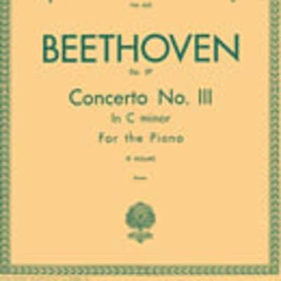 Concerto No. 3 in C Minor, Op. 37 (2-piano score)