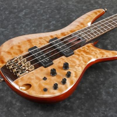 Ibanez SR2400-FNL  Premium E-Bass 4 String Florid Natural Low Gloss + Gigbag